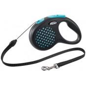 Flexi design azul de cordón para perros