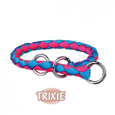Collar educativo Cavo de nylon redondo en color rosa y neón