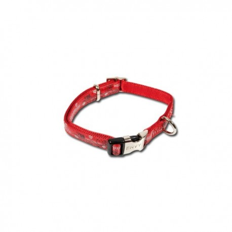 Collar Envy para perros en color rojo nayeco