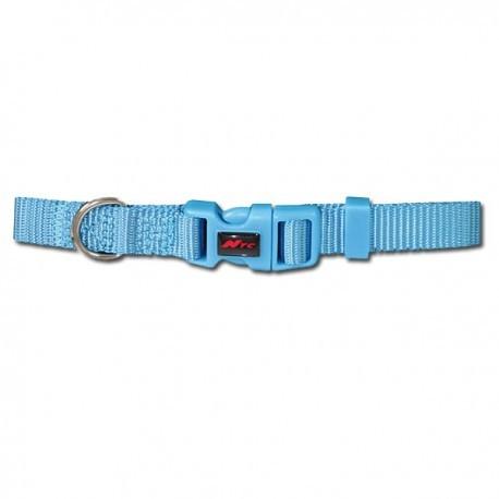 Collar para perros Basic de nylon azul
