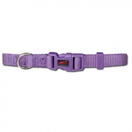 Collar basic lila para perros nayeco