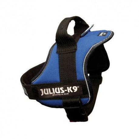 Arnés Julius K9 azul para perros