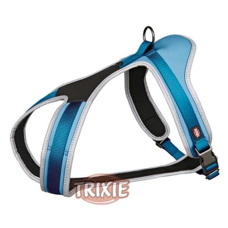 Arnés confort experience para perros color azul trixie