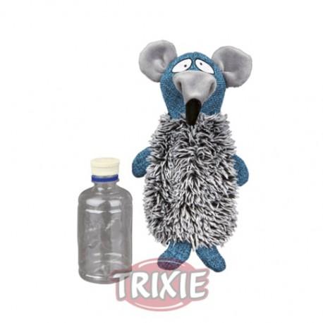 Mordedor rata con botella extraíble y sonido