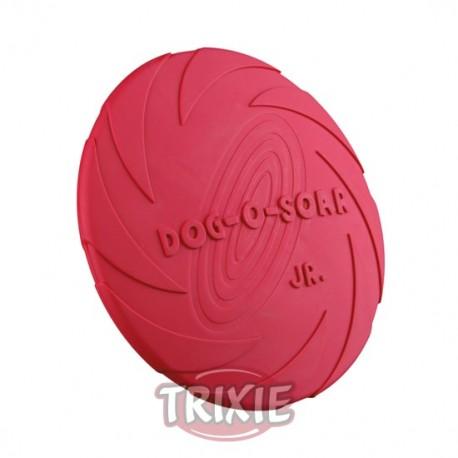 Disco flotante de caucho para perros