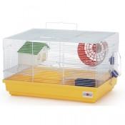 Jaula para hamsters con dos pisos