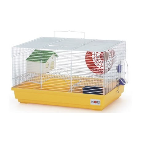 Jaula para hamsters con dos pisos moly