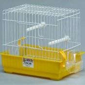 Jaula pequeña cuadrada para aves alamber