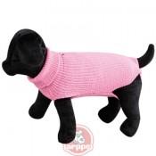 Jersey calentito para perros color rosa