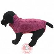 Jersey Cordelux rosa para perros