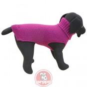 Jersey elegante para perros color púrpura