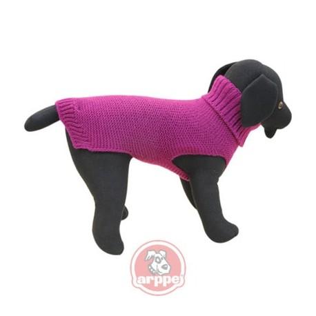 Jersey elegante para perros en color púrpura