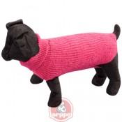 Jersey liso de lana fucsia sander arppe