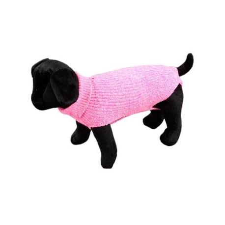 Jersey para perros de punto color rosa arppe