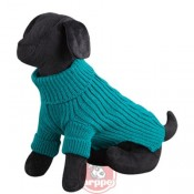Jersey terry color verde para perros