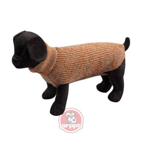 Jersey de lana marrón para perros arppe