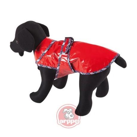 Impermeable de color rojo para perros arppe