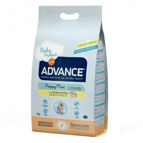 Advance Puppy Maxi de Pollo y Arroz