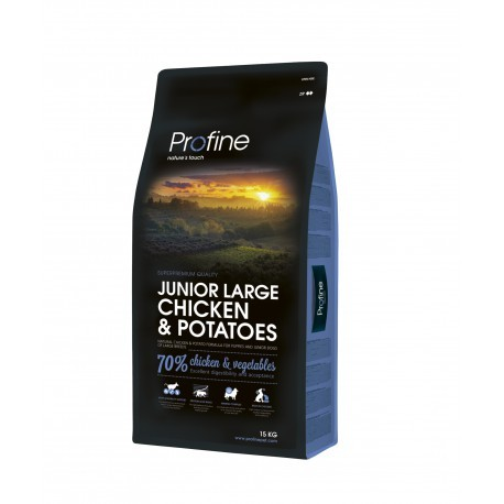 Profine Junior Large Breed chicken + lata de regalo