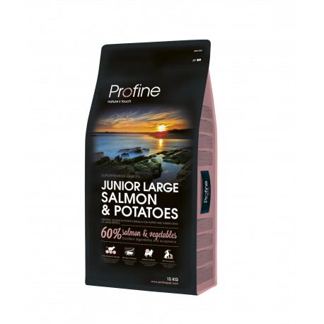 Profine Junior Large de salmón lata de regalo