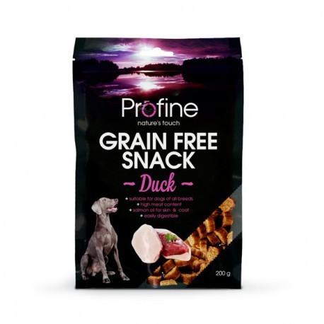 Profine snack de pato sin cereales para perros