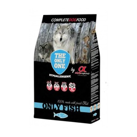Alpha Spirit Only Fish de pescado para perros