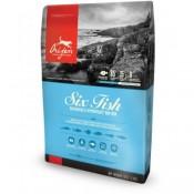 Orijen Six Fish de pescado para perros