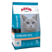Arion Original Sterelized Weight Control de salmón
