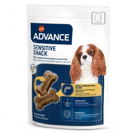 Advance Sensitive Snack para perros sensibles