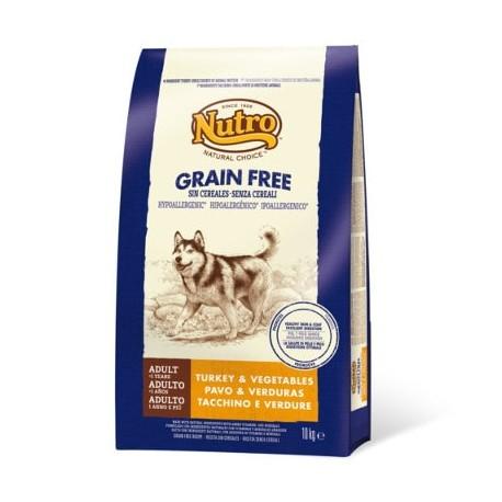 Nutro adult grain free de pavo para perros