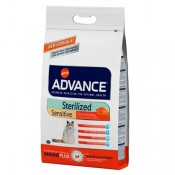 Advance Sterilized Sensitive Salmón pienso gatos