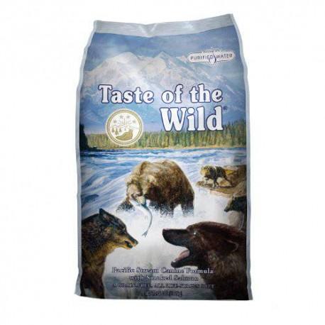 Taste of the wild pacific stream con salmon ahumado