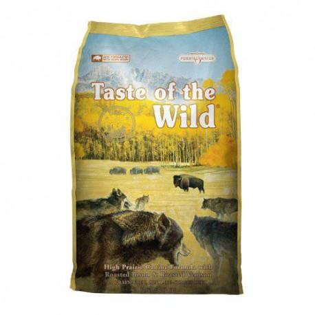 Taste of the wild high prairie de bisonte y venado