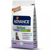 Advance Sterilized Hairball pienso gatos