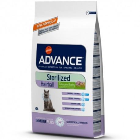 Advance Sterilized Hairball pienso gatos