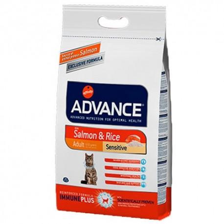 Advance Adult Sensitive Salmón para gatos