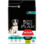 Purina Pro Plan OptiDigest Medium puppy cordero