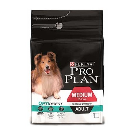 Purina Pro Plan OptiDigest medium adult pollo