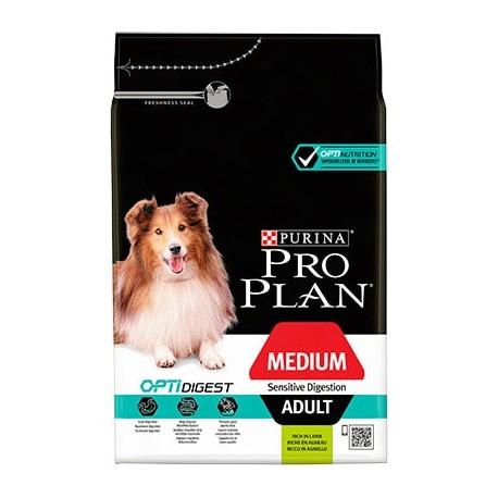 Purina Pro Plan OptiDigest Medium Adult Cordero