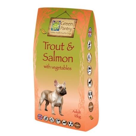 Pienso holístico Green Dog Food de trucha y salmón