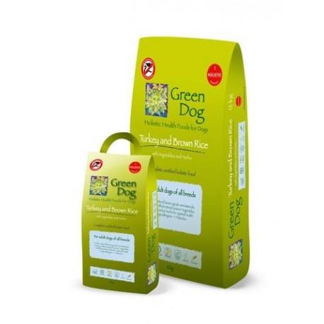 Pienso holístico Green Dog Food de pavo y verduras