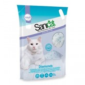 Sanicat Diamonds Fresh Arena de sílice para gatos