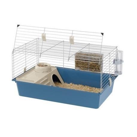 Jaula para conejos y cobayas Cavie