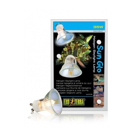 Lámpara halógena Exo Terra Sun Glo para tapa Dual Top