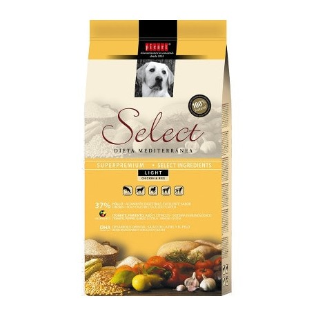 3 kg Picart Select Light para perros