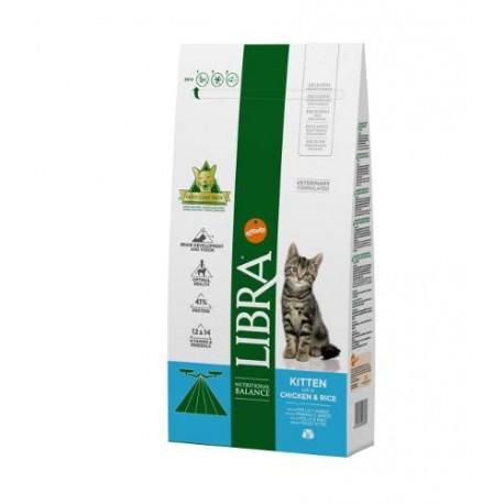 Libra Kitten con pollo y arroz pienso gatitos