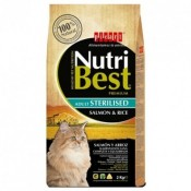 Picart Nutribest Cat Sterilized de salmón y arroz