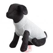 Jersey de punto new basic para perros en color gris