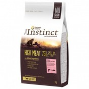 True Instinct High Meat Adult de salmón y atún para gatos
