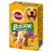 Pedigree Biscrok Galletas de diferentes sabores para perros